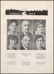 Page 15, 1928 Edition, Martins Ferry High School - Ferrian Yearbook (Martins Ferry, OH) online yearbook collection