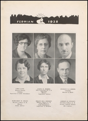 Page 16, 1928 Edition, Martins Ferry High School - Ferrian Yearbook (Martins Ferry, OH) online yearbook collection