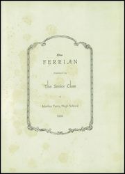 Page 5, 1933 Edition, Martins Ferry High School - Ferrian Yearbook (Martins Ferry, OH) online yearbook collection