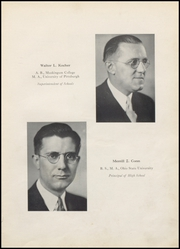 Page 11, 1937 Edition, Martins Ferry High School - Ferrian Yearbook (Martins Ferry, OH) online yearbook collection