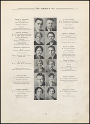 Page 13, 1937 Edition, Martins Ferry High School - Ferrian Yearbook (Martins Ferry, OH) online yearbook collection