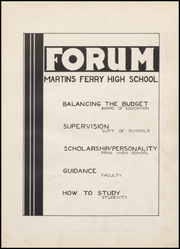 Page 7, 1937 Edition, Martins Ferry High School - Ferrian Yearbook (Martins Ferry, OH) online yearbook collection