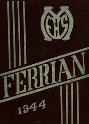 1944 Edition, Martins Ferry High School - Ferrian Yearbook (Martins Ferry, OH)