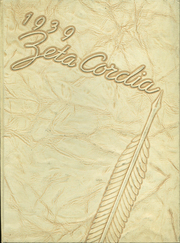 Bryan High School - Zeta Cordia Yearbook (Bryan, OH) online yearbook collection, 1939 Edition, Page 1