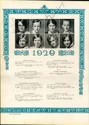 Page 38, 1929 Edition, Bucyrus High School - Bucyrian Yearbook (Bucyrus, OH) online yearbook collection