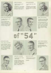 Page 15, 1954 Edition, Bucyrus High School - Bucyrian Yearbook (Bucyrus, OH) online yearbook collection