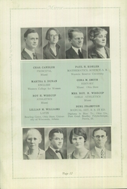 Page 12, 1927 Edition, Memorial High School - Mirror Yearbook (St Marys, OH) online yearbook collection