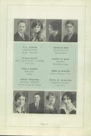 Page 13, 1927 Edition, Memorial High School - Mirror Yearbook (St Marys, OH) online yearbook collection