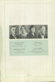 Page 14, 1927 Edition, Memorial High School - Mirror Yearbook (St Marys, OH) online yearbook collection