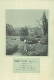 Page 3, 1927 Edition, Memorial High School - Mirror Yearbook (St Marys, OH) online yearbook collection