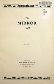 Page 7, 1929 Edition, Memorial High School - Mirror Yearbook (St Marys, OH) online yearbook collection