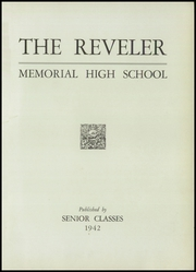 Page 5, 1942 Edition, Memorial High School - Mirror Yearbook (St Marys, OH) online yearbook collection