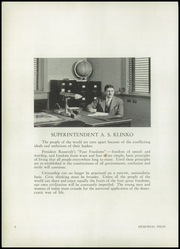 Page 8, 1942 Edition, Memorial High School - Mirror Yearbook (St Marys, OH) online yearbook collection