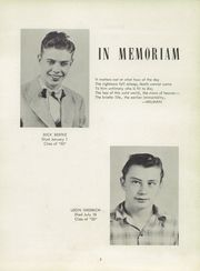 Page 7, 1952 Edition, Memorial High School - Mirror Yearbook (St Marys, OH) online yearbook collection