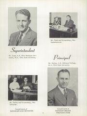 Page 10, 1953 Edition, Memorial High School - Mirror Yearbook (St Marys, OH) online yearbook collection