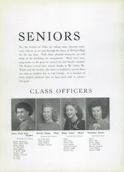 Page 14, 1945 Edition, Willard High School - Chief Yearbook (Willard, OH) online yearbook collection