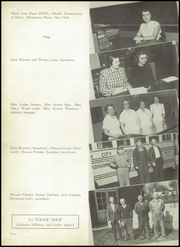 Page 14, 1952 Edition, London High School - L Yearbook (London, OH) online yearbook collection