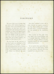 Page 5, 1952 Edition, London High School - L Yearbook (London, OH) online yearbook collection