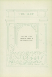 Page 7, 1928 Edition, Kenton High School - Echo Yearbook (Kenton, OH) online yearbook collection