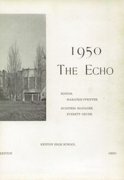 Page 7, 1950 Edition, Kenton High School - Echo Yearbook (Kenton, OH) online yearbook collection