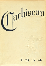 1954 Edition, Carrollton High School - Carhisean Yearbook (Carrollton, OH)