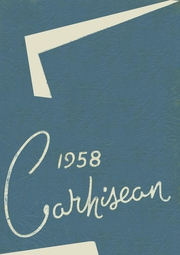 1958 Edition, Carrollton High School - Carhisean Yearbook (Carrollton, OH)