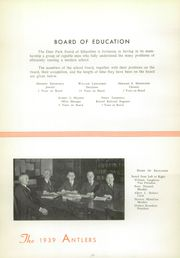 Page 16, 1939 Edition, Deer Park High School - Antlers Yearbook (Deer Park, OH) online yearbook collection