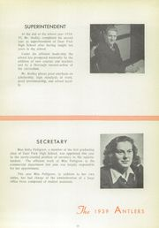 Page 17, 1939 Edition, Deer Park High School - Antlers Yearbook (Deer Park, OH) online yearbook collection