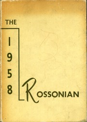 Page 1, 1958 Edition, Ross Township High School - Rossonian Yearbook (Hamilton, OH) online yearbook collection