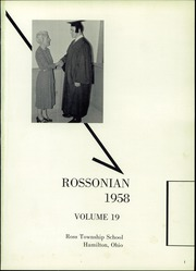 Page 5, 1958 Edition, Ross Township High School - Rossonian Yearbook (Hamilton, OH) online yearbook collection