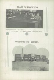 Page 8, 1934 Edition, Rossford High School - R Pride Yearbook (Rossford, OH) online yearbook collection