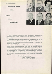 Page 11, 1948 Edition, Rossford High School - R Pride Yearbook (Rossford, OH) online yearbook collection