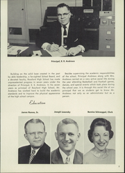 Page 9, 1957 Edition, Rossford High School - R Pride Yearbook (Rossford, OH) online yearbook collection