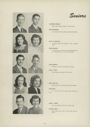 Page 16, 1948 Edition, Blanchester High School - Brown and Blue Yearbook (Blanchester, OH) online yearbook collection