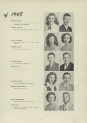 Page 17, 1948 Edition, Blanchester High School - Brown and Blue Yearbook (Blanchester, OH) online yearbook collection