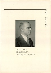 Page 15, 1931 Edition, McClain High School - Dragon Yearbook (Greenfield, OH) online yearbook collection