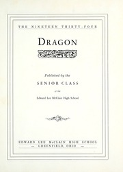 Page 7, 1934 Edition, McClain High School - Dragon Yearbook (Greenfield, OH) online yearbook collection