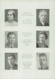 Page 17, 1936 Edition, McClain High School - Dragon Yearbook (Greenfield, OH) online yearbook collection