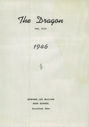 Page 7, 1946 Edition, McClain High School - Dragon Yearbook (Greenfield, OH) online yearbook collection