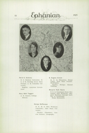 Page 12, 1929 Edition, East Palestine High School - Ephanian Yearbook (East Palestine, OH) online yearbook collection