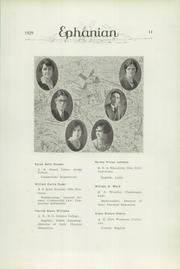 Page 13, 1929 Edition, East Palestine High School - Ephanian Yearbook (East Palestine, OH) online yearbook collection