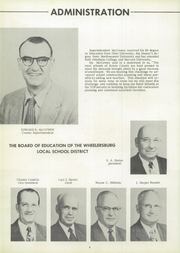Page 8, 1954 Edition, Wheelersburg High School - Reflector Yearbook (Wheelersburg, OH) online yearbook collection