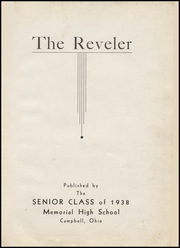 Page 5, 1938 Edition, Campbell Memorial High School - Reveler Yearbook (Campbell, OH) online yearbook collection