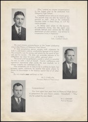 Page 8, 1938 Edition, Campbell Memorial High School - Reveler Yearbook (Campbell, OH) online yearbook collection