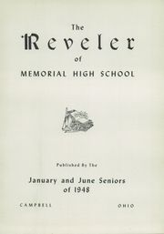 Page 5, 1948 Edition, Campbell Memorial High School - Reveler Yearbook (Campbell, OH) online yearbook collection