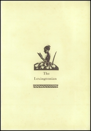 Page 5, 1931 Edition, New Lexington High School - Lexingtonian Yearbook (New Lexington, OH) online yearbook collection