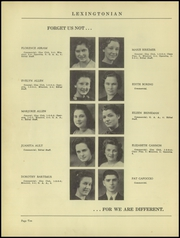 Page 14, 1939 Edition, New Lexington High School - Lexingtonian Yearbook (New Lexington, OH) online yearbook collection