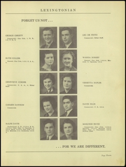 Page 15, 1939 Edition, New Lexington High School - Lexingtonian Yearbook (New Lexington, OH) online yearbook collection