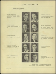 Page 16, 1939 Edition, New Lexington High School - Lexingtonian Yearbook (New Lexington, OH) online yearbook collection