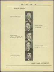 Page 20, 1939 Edition, New Lexington High School - Lexingtonian Yearbook (New Lexington, OH) online yearbook collection